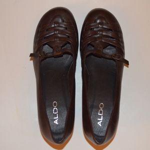 Aldo Women's Shoes Dark Brown Pre-Owned Size 38/8